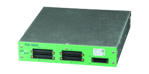 albis-elcon - PSD 0800: 8 wire pairs power/ VDSL diplexer for the Remote Powering System RPS 1600