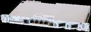 albis-elcon - ULAF+ - MCU-S: Management and Ethernet Aggregator for ULAF+ Sub-Racks