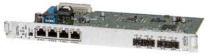 albis-elcon - ULAF+ - QOTU: Quad E1 Fibre optic Line Card