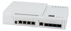 albis-elcon - BIG 5540: ISDN VoIP gateway with 4 ISDN S0 and 2 TAE (FXS) ports