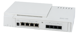 albis-elcon - BIG 5622: Analogue leased line gateway with 2 FXS and 2 FXO analogue ports